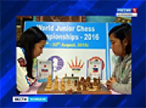 Динара Дорджиева заняла третье место на Первенстве мира по шахматам
