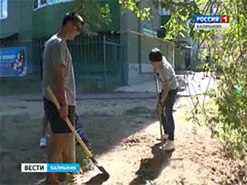 Активная молодежь Элисты объявила акцию за чистый город
