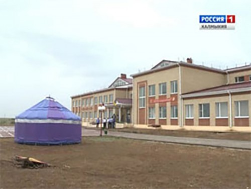 В поселке Сарпа состоялось открытие дошкольной группы на базе общеобразовательного учебного заведения