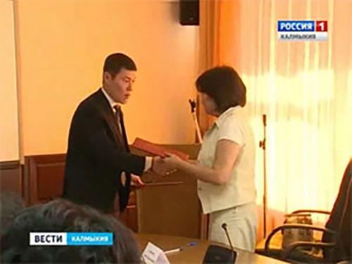 Подписание соглашения между администрацией Элисты и министерством здравоохранения республики