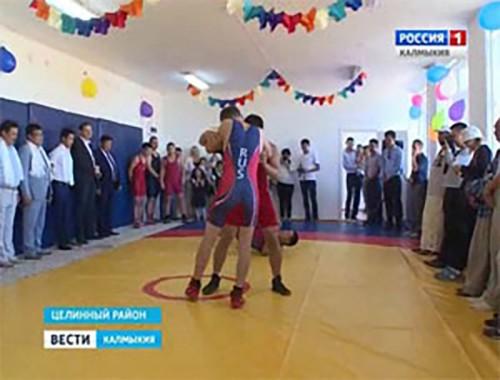 В поселке Аршан Булг открыли многофункциональный спортивный класс