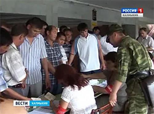 Республика Калмыкия приняла участие в стратегическом командно-штабном учении «Кавказ 2016»