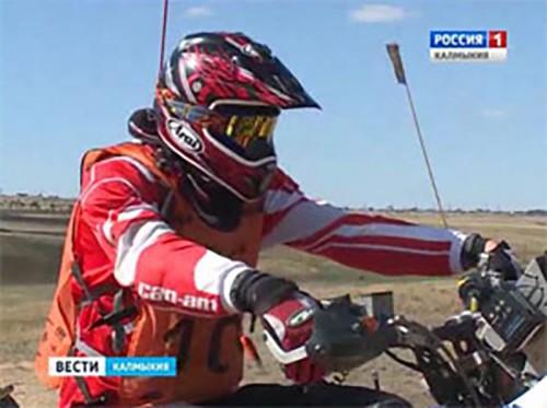 В Калмыкии проходит гонка Can Am Trophy Russia 2016