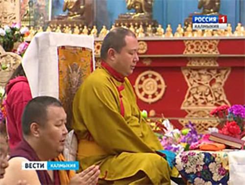 В Центральном хуруле продолжается большой буддийский ритуал Торгьяк
