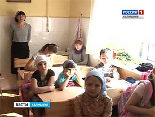 Возобновились занятия в воскресной школе Казанского кафедрального собора Элисты