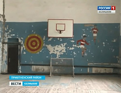 Активисты Общероссийского народного фронта оценили состояние сельского спортзала