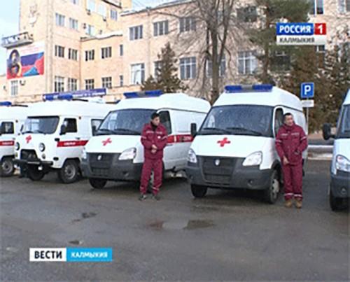 Автопарк станции скорой помощи пополнился тремя новыми машинами