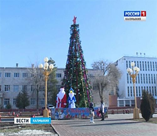 Жители Калмыкии встретили новый год