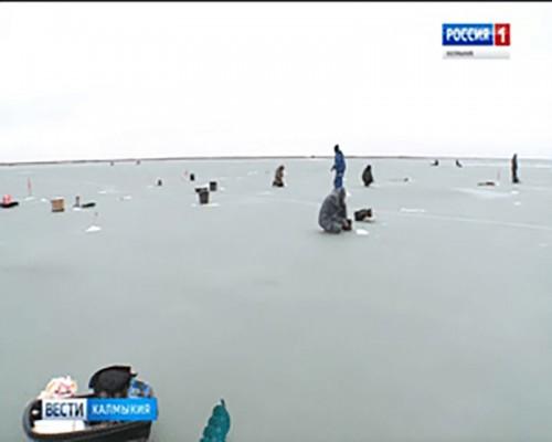 В Яшкульском районе прошел турнир по зимней рыбалке