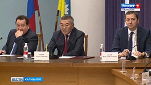 "В Элисте прошло заседание оргкомитета ""Победа"""