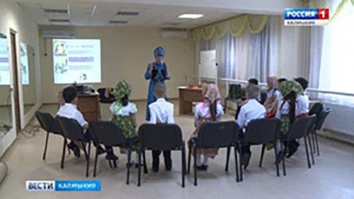 В Калмыкии продолжается педагогический марафон