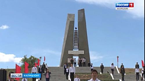 В Хулхуте состоялся митинг, посвященный Дню Победы