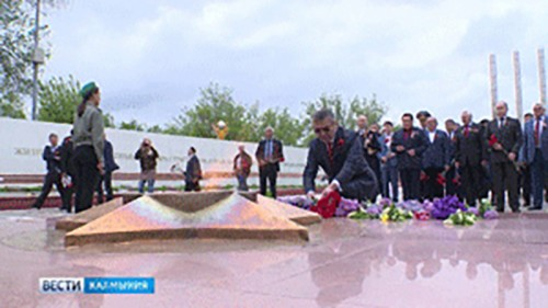 Калмыкия отметила День Великой Победы