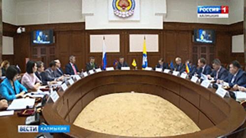В Элисте прошло заседание координационного совета по бюджету и налоговой политики Ассоциации «Юг»