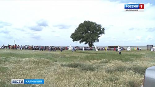 Шаджин лама Калмыкии проведет ритуал подношения земле «Газр тяклгн»