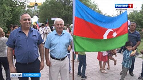 День России в Калмыкии отметили Парадом Дружбы народов