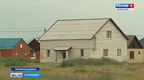 Комплексная застройка жилого массива в селе Троицкое продолжается