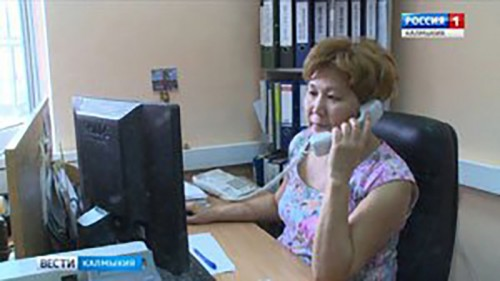 В регионально пенсионном ведомстве отвечают на вопросы элистинцев
