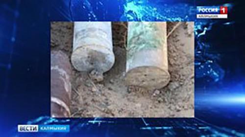 В Лаганском районе найдены боеприпасы со времен ВОВ