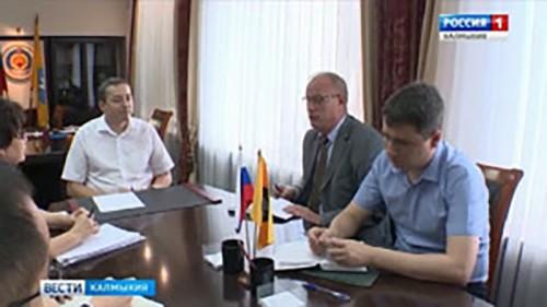 В правительстве Калмыкии отреагировали на инцидент с партами