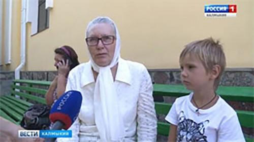 В Казанском кафедральном соборе Элисты состоялся молебен в честь иконы Божией Матери