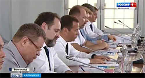 В Волгограде Председатель Правительства России Дмитрий Медведев провел совещание