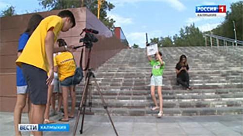 Сегодня в Элисте завершает работу первая киношкола для детей