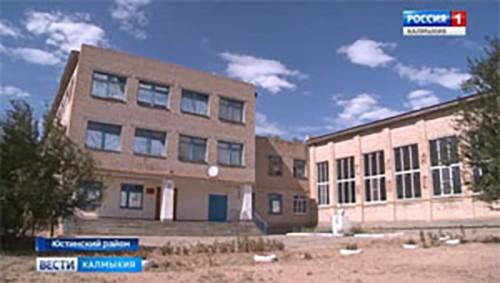 Спортивный зал ещё одной сельской школы получил новую жизнь