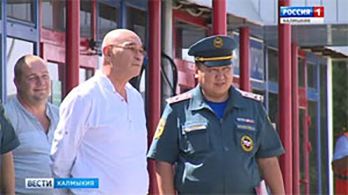 В Калмыкию прибыл вертолет санавиации