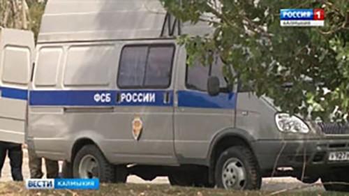 Вблизи села Вознесеновка Целинного района проходят учения ФСБ