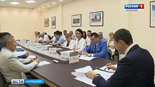 В Элисте состоялось заседание Президиума Правительства
