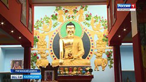 В Калмыкии построен еще один религиозный объект
