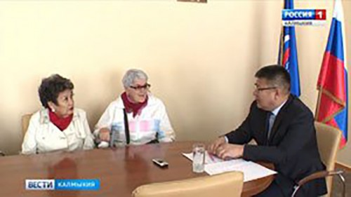 Батор Адучиев провел прием граждан