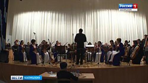 В Элисте состоялся сольный концерт Арслана Шовгурова