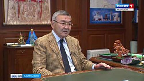 Глава Калмыкии дал интервью журналу «Южно-российский вестник»