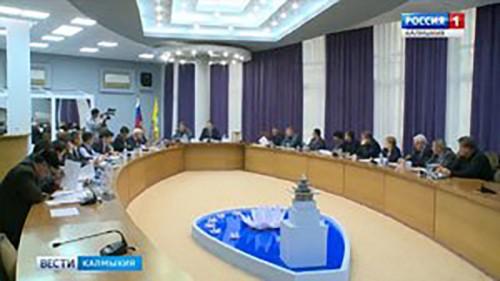 В Элисте прошло заседание комиссии по предупреждению и ликвидации ЧС