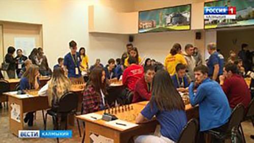 В Элисте стартовал Всероссийский турнир по шахматам среди студентов