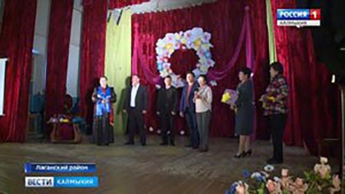 Бенефис актрисы Веры Тепкеевой состоялся в Лаганском районе