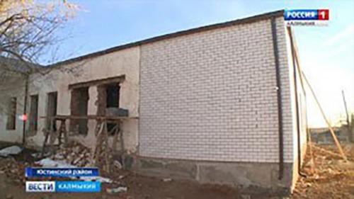 Продолжается работа по реконструкции сельских домов культуры