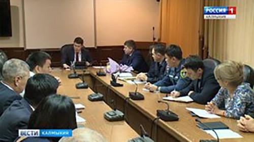 В администрации Элисты прошло плановое совещание