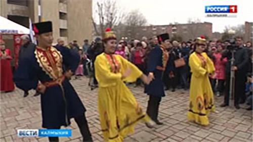 Цаган-Сар отметят в Астрахани