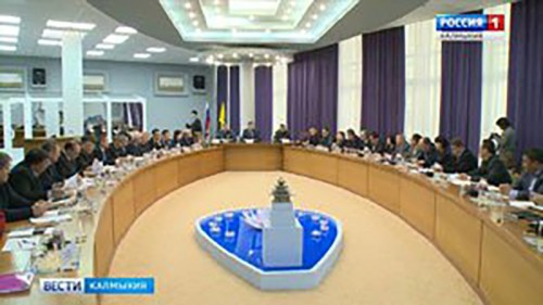 В Элисте состоялось заседание комиссии по предупреждению и ликвидации ЧС