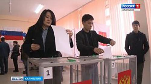 Калмыкия в числе лидеров по явке избирателей в ЮФО