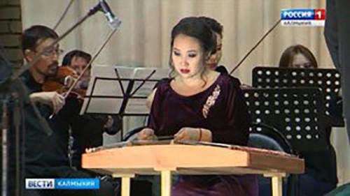 В Элисте состоялся сольный концерт Виктории Китаевой