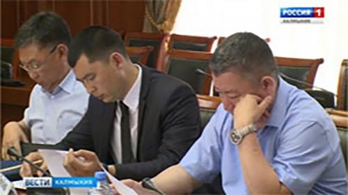 Глава Калмыкии провел заседание Антитеррористической комиссии