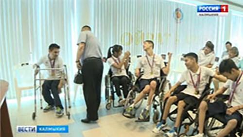 Ребята из Калмыкии завоевали два призовых командных места по бочче