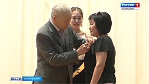 В Калмыкии чествуют медицинских работников