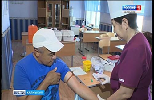 40 тысяч жителей Калмыкии должны пройти диспансеризацию