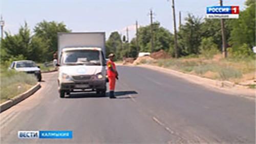Половина дорожного фонда республики будет направлена на реконструкцию дорог в Элисте