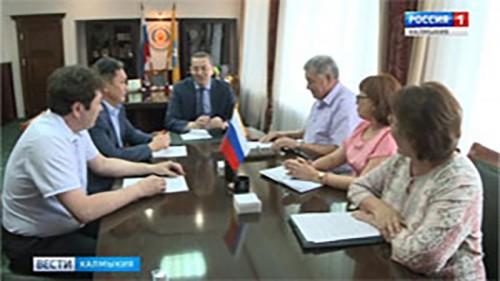 Новые назначения в правительстве Калмыкии